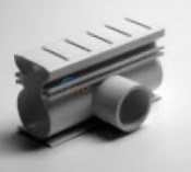 Stegmier Super Drain Side Adapter White Case 4/cs - SRSAW-4