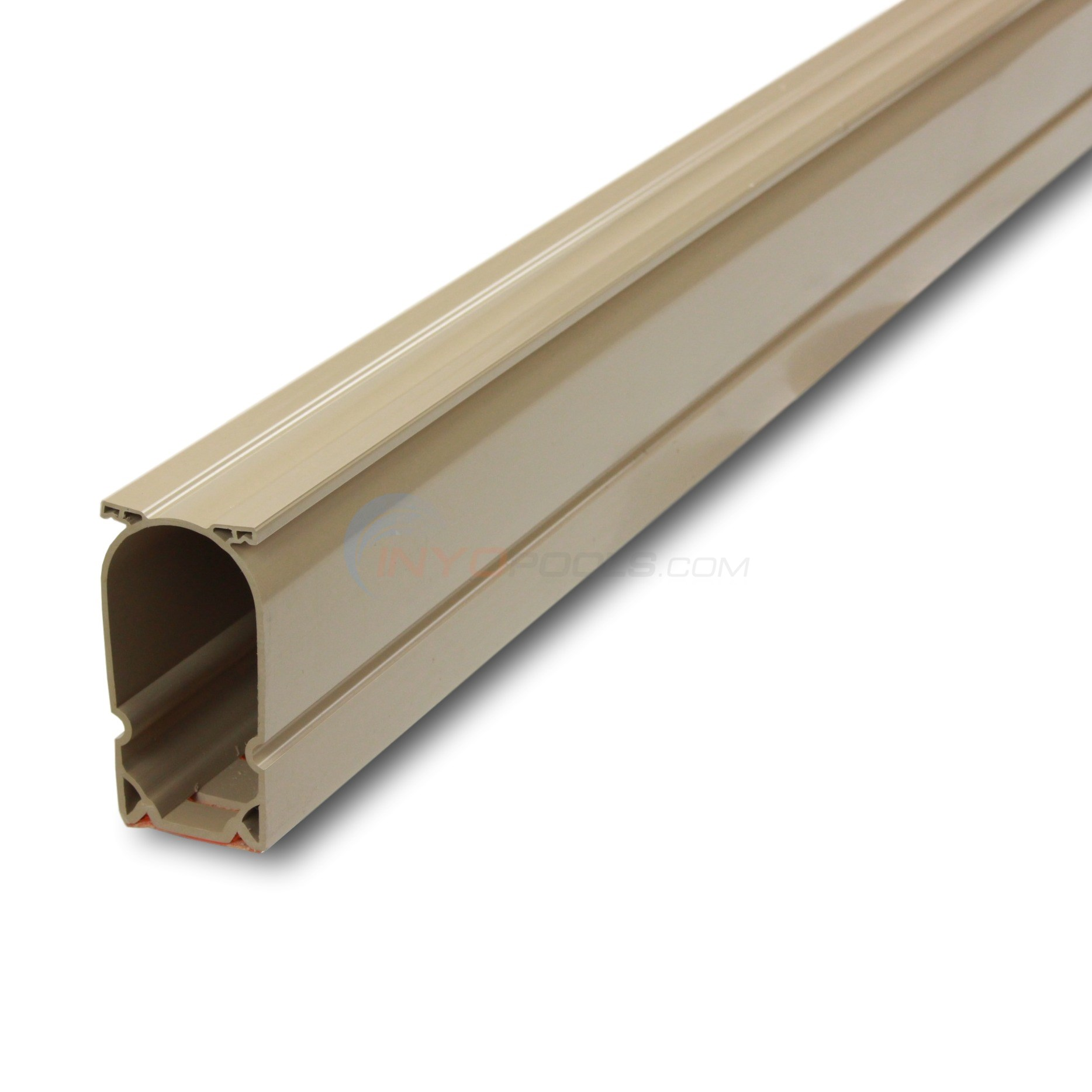 Stegmier Channel Drain Tan Case or 16 - 5 Ft. Sections (80 Feet) - CD3T-5
