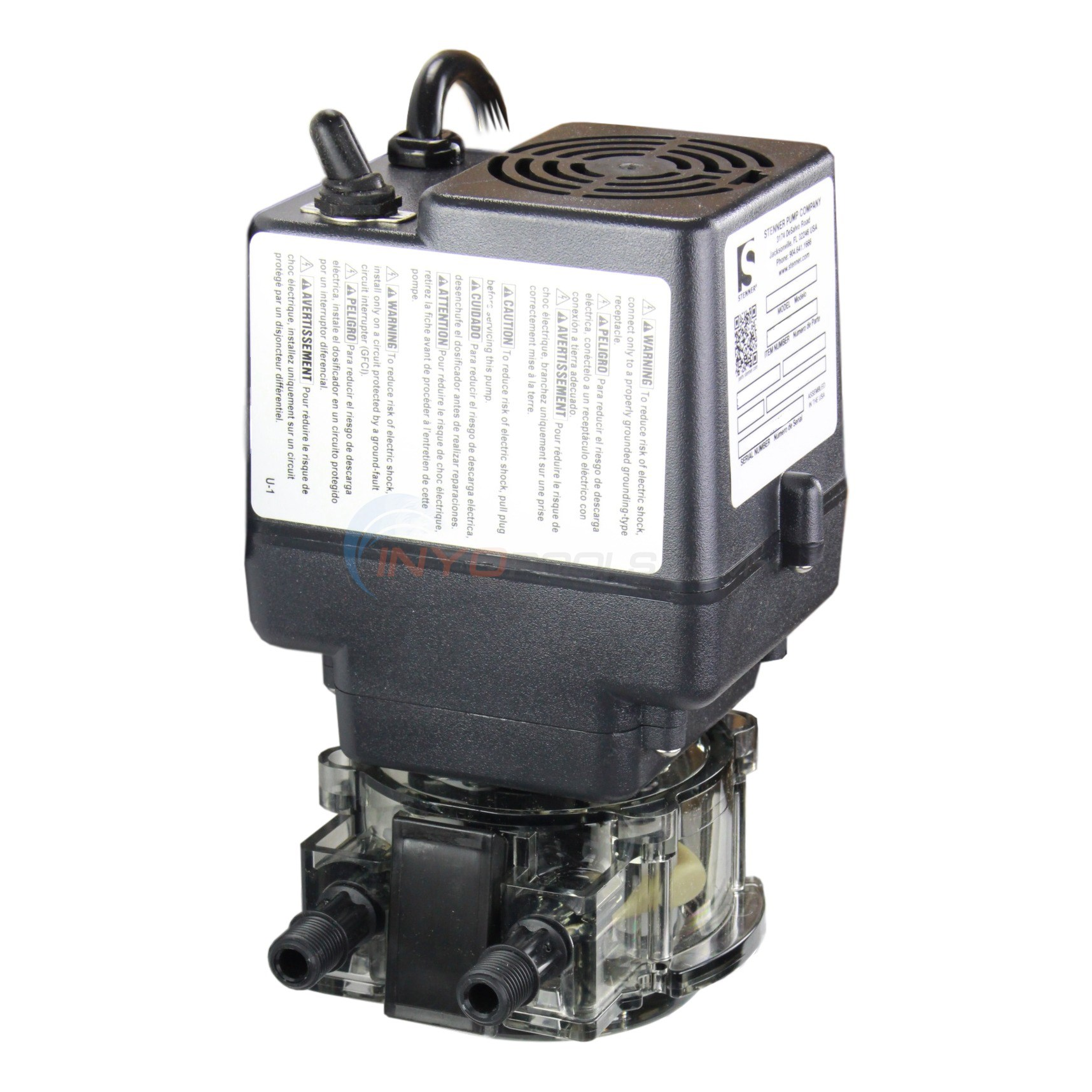 Stenner 85 GPD Fixed Rate Pump - 85MFL5A3SUAA