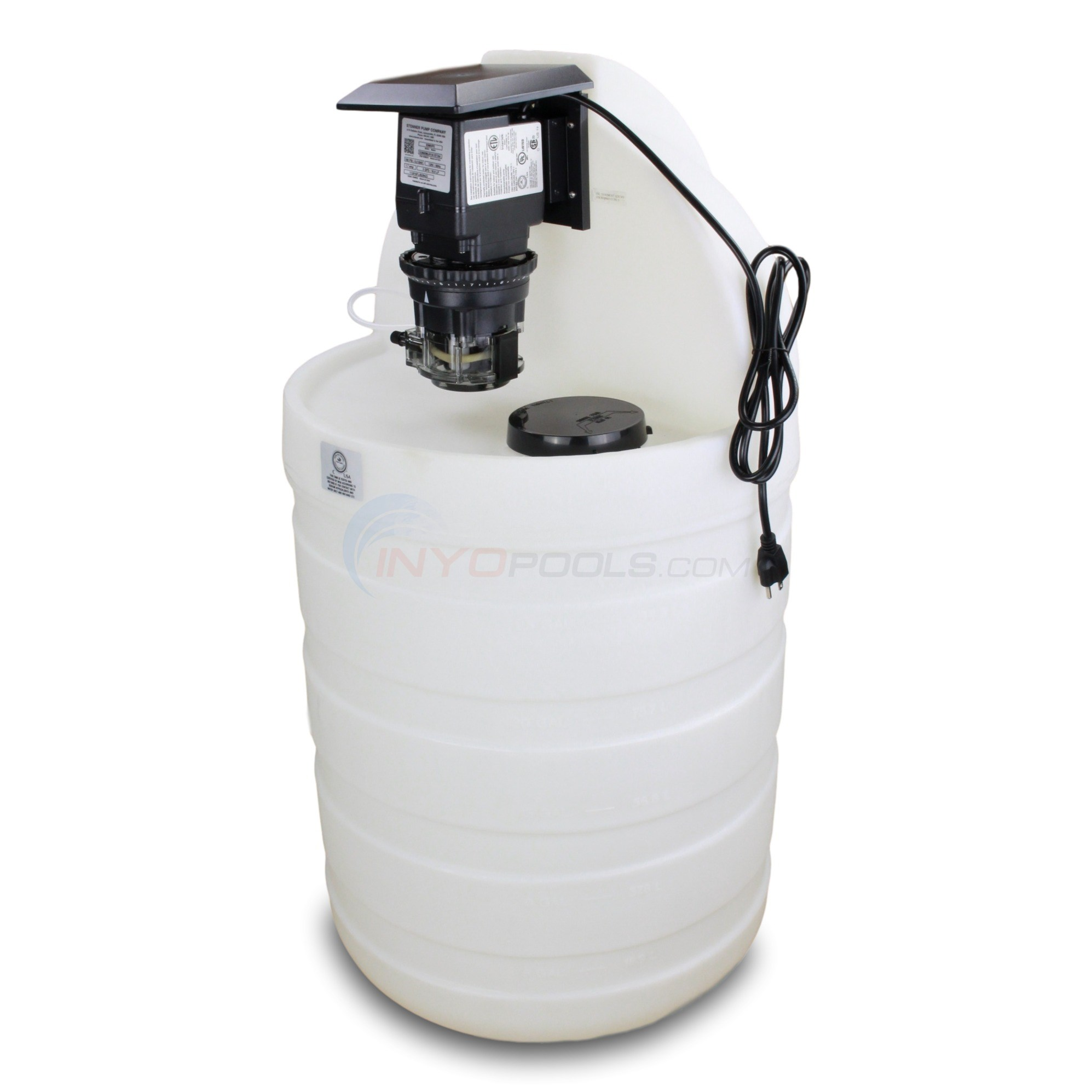 Stenner Pump w/ 30 Gal. Natural Tank System