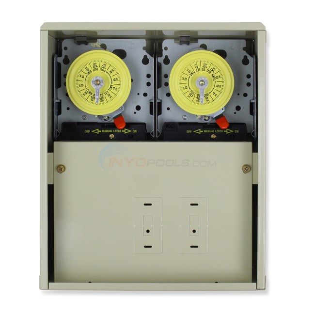 Intermatic 40 Amp Control Center W/ 2 220V Timer - T10404R