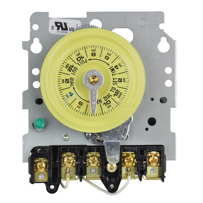 intermatic timer mechanism only 220v - t104m - inyopools com on t104 wiring  diagram,