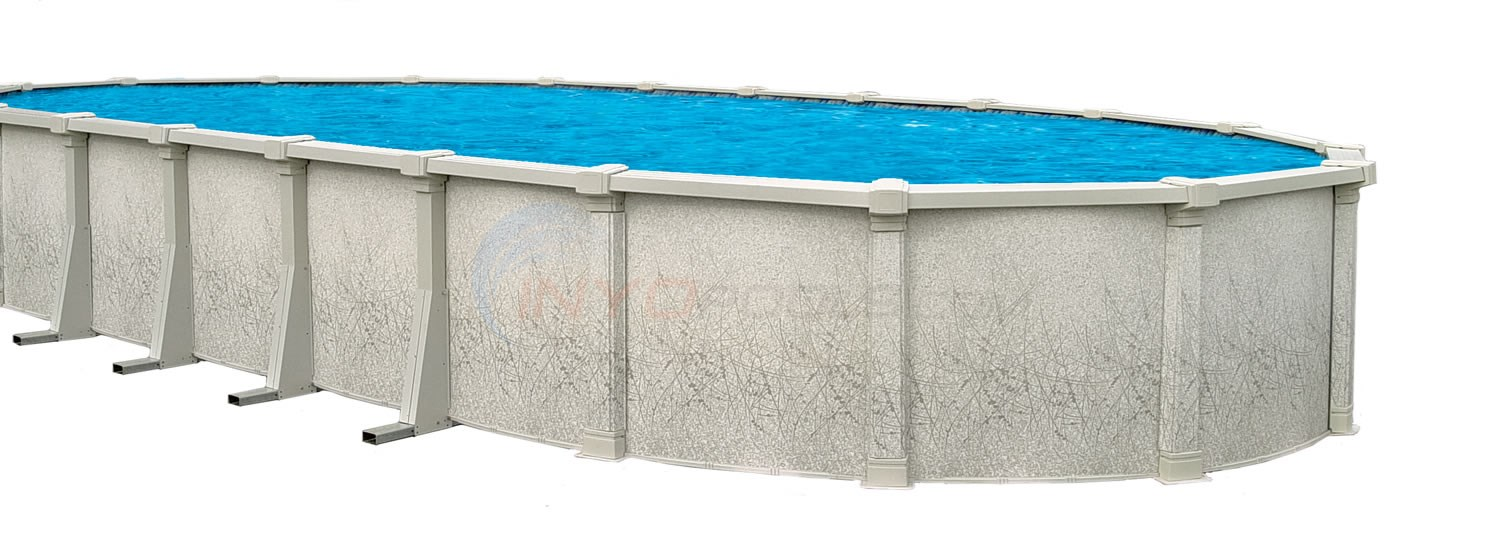 "Sharkline Tahitian 24' Rnd 54"" Above Ground Pool W/ Pump, Filter, Liner & Skimmer - NB1202P"