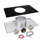 "Indoor Neg. Pressure Vertical 8"" Vent Adapter Kit - H400FD"