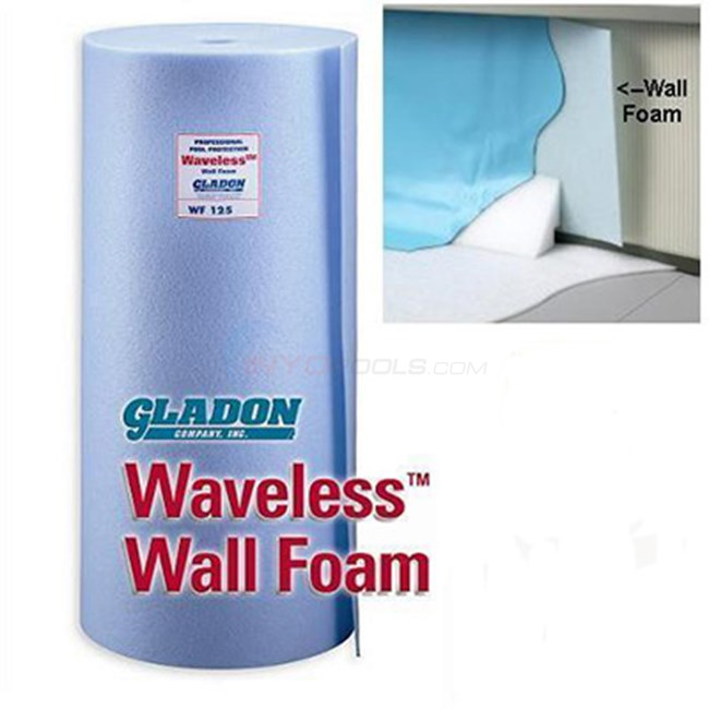 Wall Foam 1/8 inch x 48 inch x 85 ft. roll - NL112