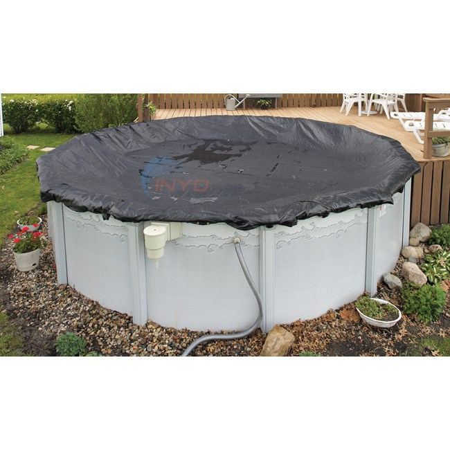 PureLine 8 Yr. Mesh Above Ground Pool Cover 15' x 30' Oval - PL6920