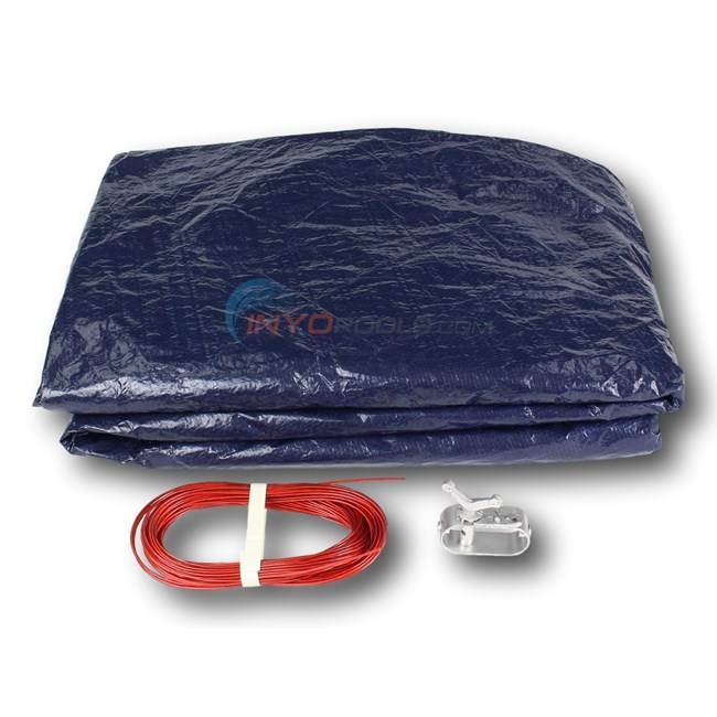 Pool Winter Cover for 24 ft Above Ground Pool - PL7908