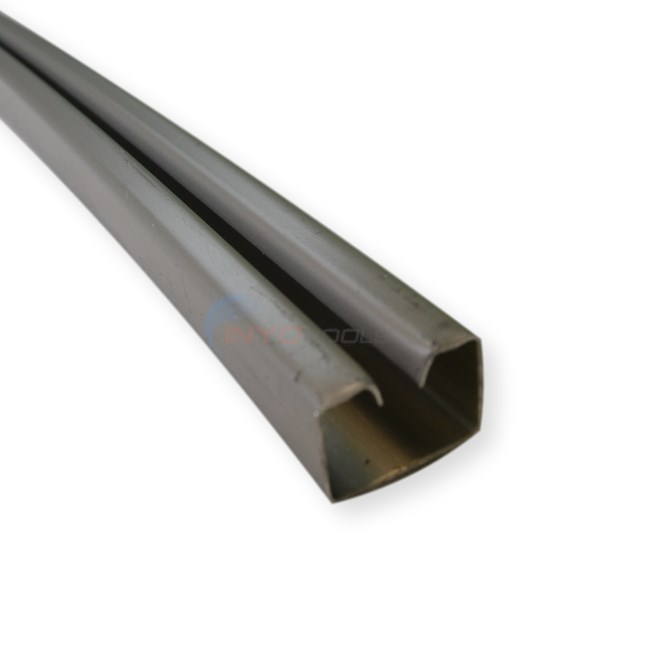 "Wilbar BOTTOM RAIL ALUM 38"" Aluminum (Single) (12'Round) - 10289"