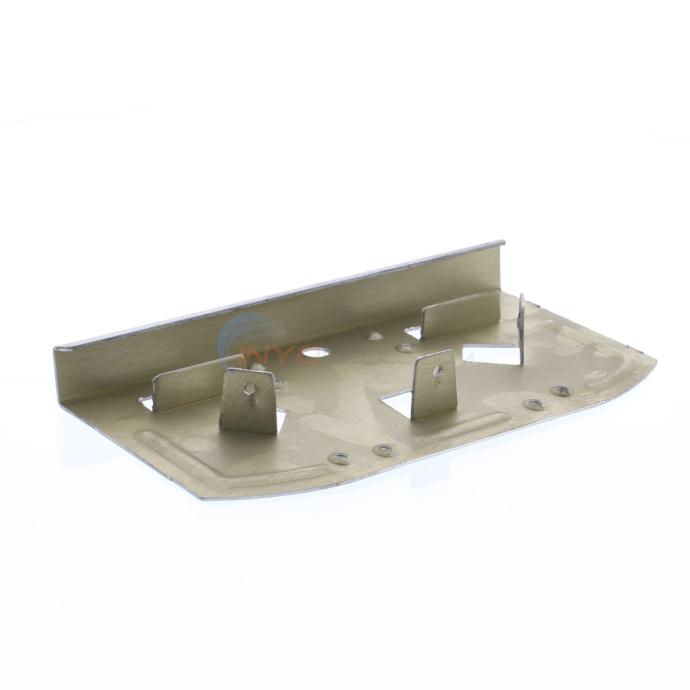 "Aluminum Bottom Plate 6-1/4"" (Single)"