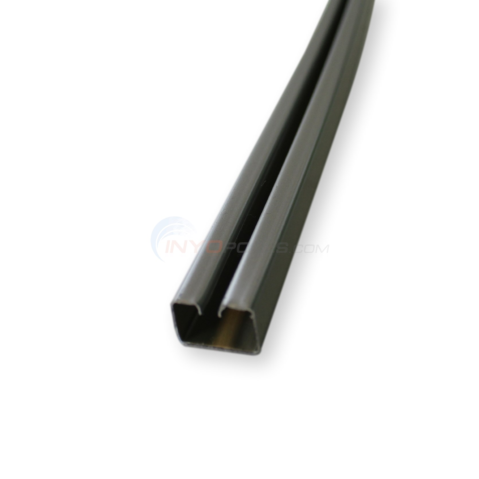 "Bottom Rail Aluminum 54-7/16"" (Single) 18' Round"