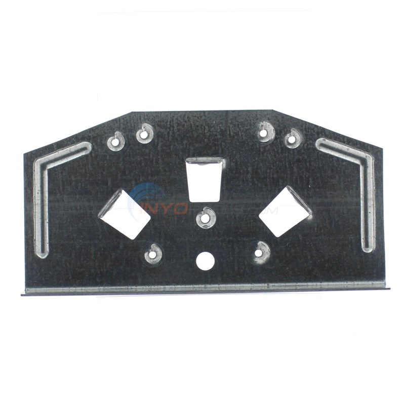 "Top Plate 6"" for Round & Oval Curved Side (Single)"
