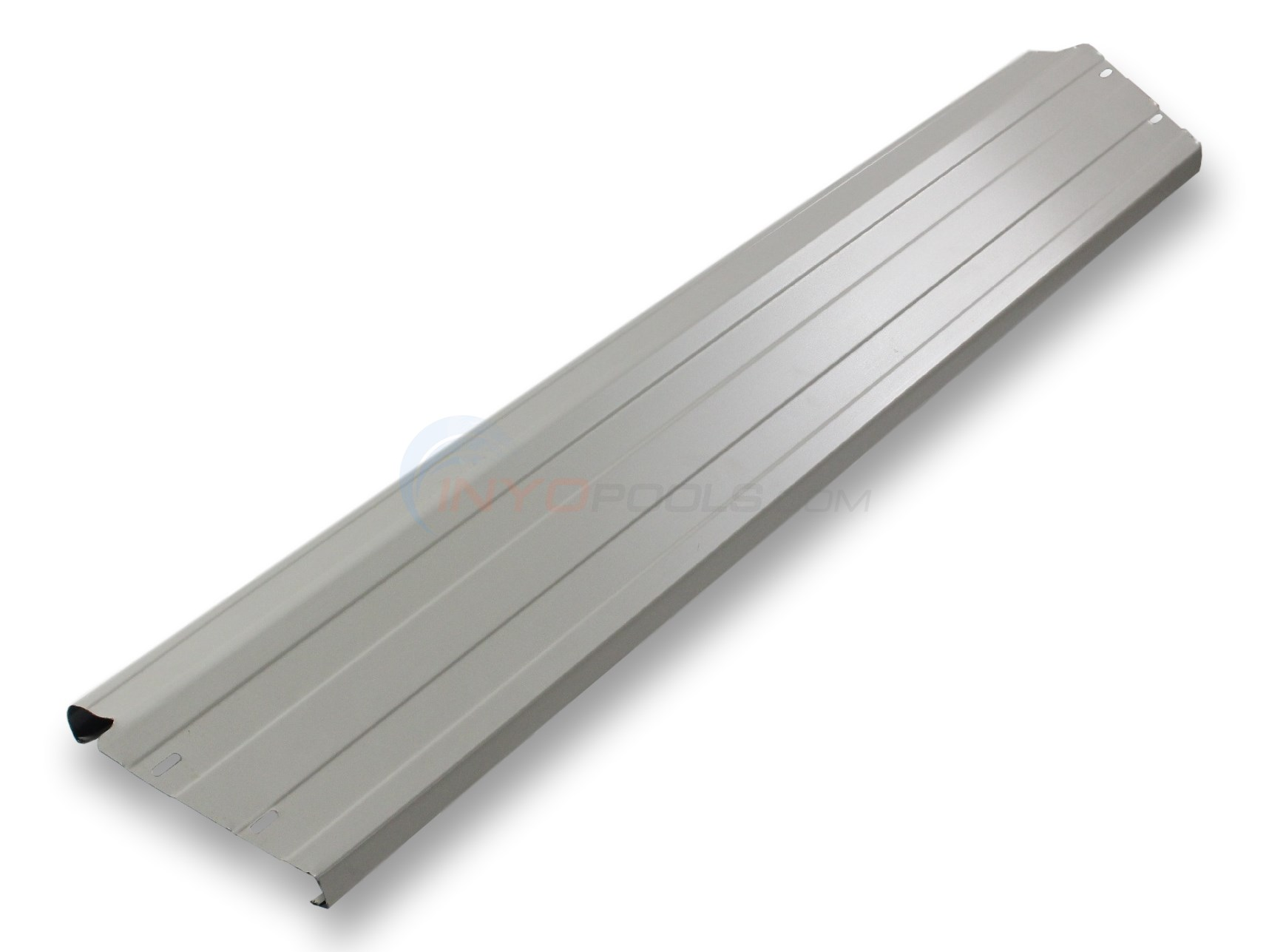 "Top Rail -Steel 7"" x 53"" Clay Color (Single) OUT OF STOCK THE REMAINDER OF 2018 POOL SEASON!"