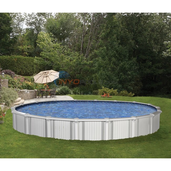 Wilbar Oasis 24 Round 54 Quot Aluminum Above Ground Pool W