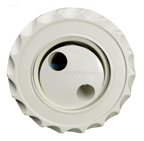 Waterway Poly Jet Internal - Adjustable Pulsator Scalloped White - 2106070