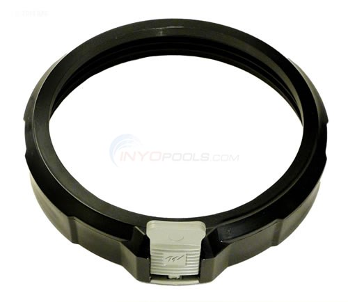 Filter Lock Ring w/ Grey Tab, Blk (500-1000)