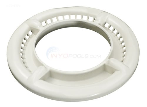 4-scallop Trim Ring, Low Volume, White