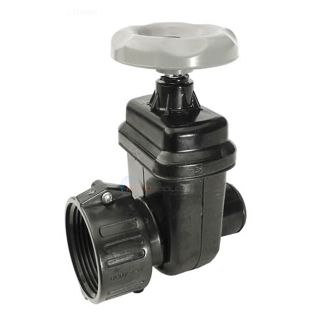 Slice valve for above ground pools quot union smooth