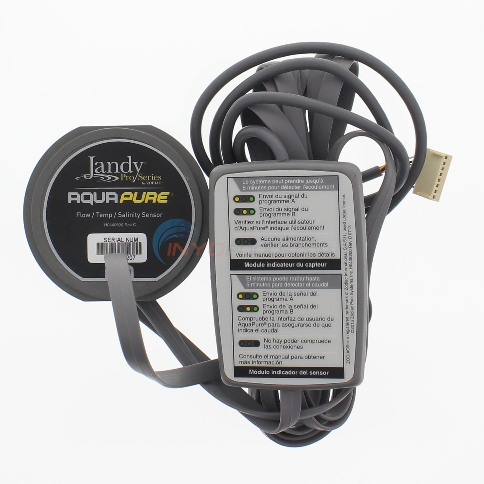 Zodiac Port Sensor Kit For 3 Port Cell 16 Cable