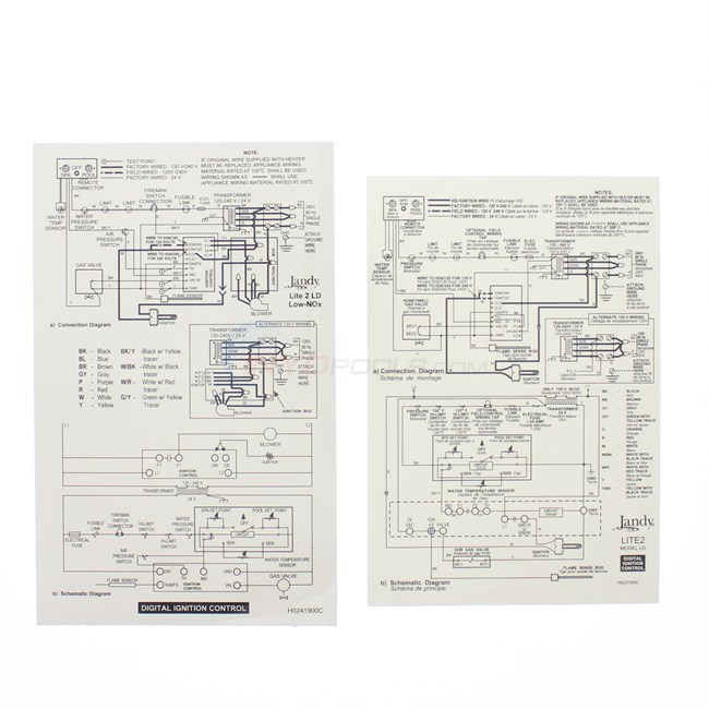 Zodiac Ignition Control Assembly r0408100 INYOPools – Laars Lite 2 Wiring Diagram