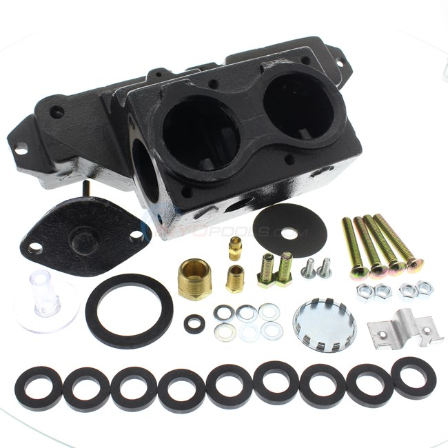Jandy Header, Front 2 In - All Xe (r0056400)