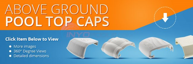Above Ground Pool Top Caps Parts Inyopools Com