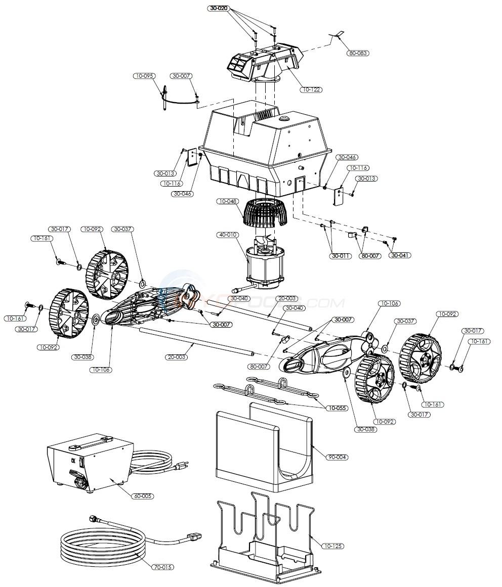 pool rover junior parts inyopools com rh inyopools com Aquabot Pool Cleaner Aquabot Classic Parts