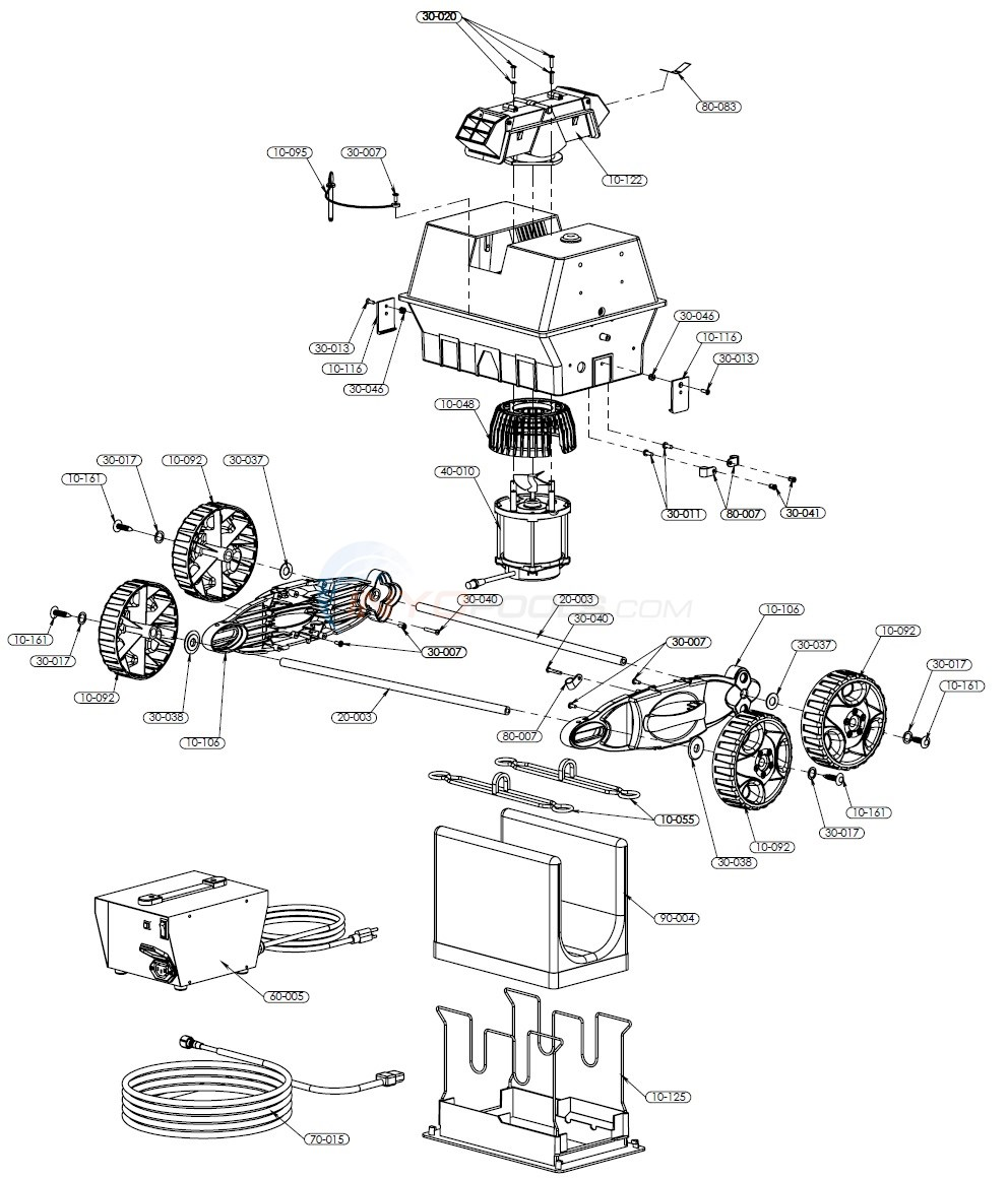 Pool Rover Junior Parts Diagram