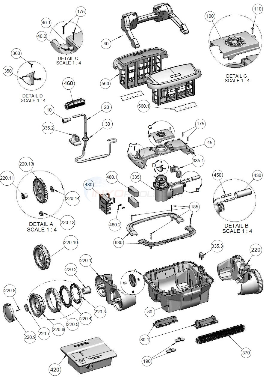 rapids 4wd parts inyopoolscom