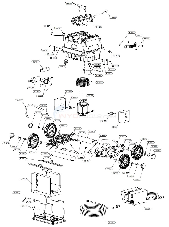 aquabot turbo t jet parts inyopools com blue wave wiring diagram aquabot  turbo t jet diagram
