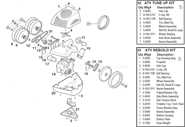 polaris atv (previously 340) parts inyopools com ATV Gas Cans polaris atv (previously 340) diagram