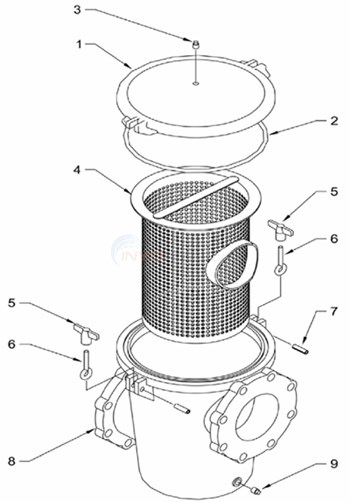 Baker Hydro Commercial Lint Pot Diagram