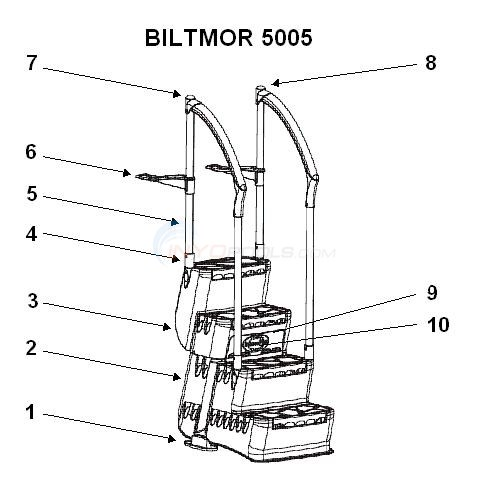 InnovaPlas Biltmor 5005 Step  Diagram