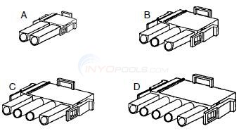 Amp Style Connectors, Parts Diagram