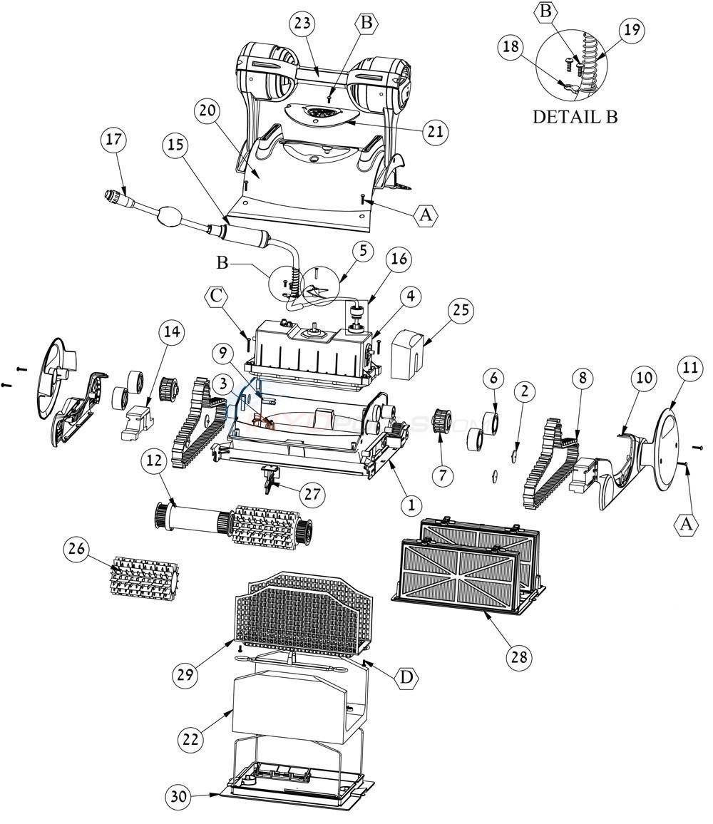 Maytronics Dolphin Dx6 Parts Wiring Diagrams Diagram