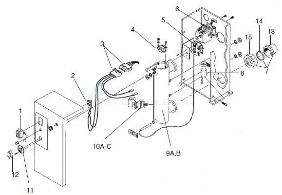 teletyne laars elektra spaheaters parts inyopools