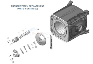 ETI 400 Heater Burner System 1 Diagram