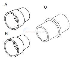 Fitting Pipe and Fitting Extenders Diagram