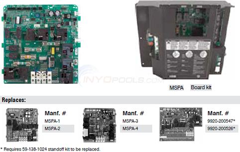 gecko mspa 1 to 4 board replacement kit parts inyopools com rh inyopools com