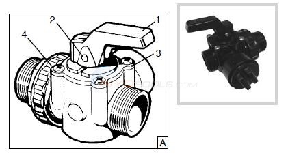 Hayward SP-727 Perflex Valve Parts Diagram
