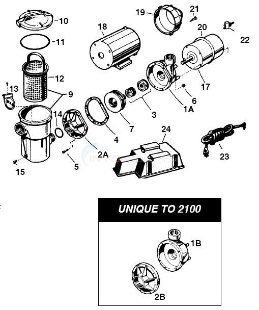 Hayward Turbo-Flo Pump Diagram