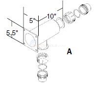 Universal Stainless Steel Manifolds Diagram