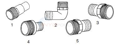 Hose Adapters Diagram