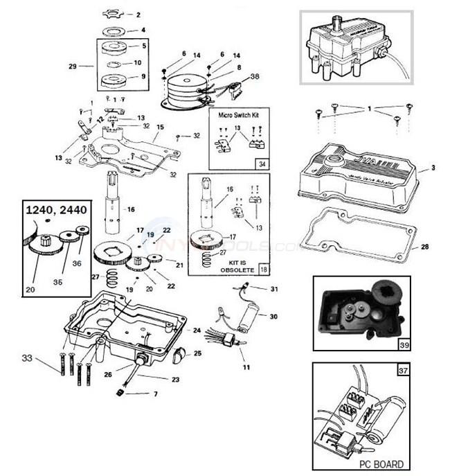 jandy valve actuator parts. Black Bedroom Furniture Sets. Home Design Ideas