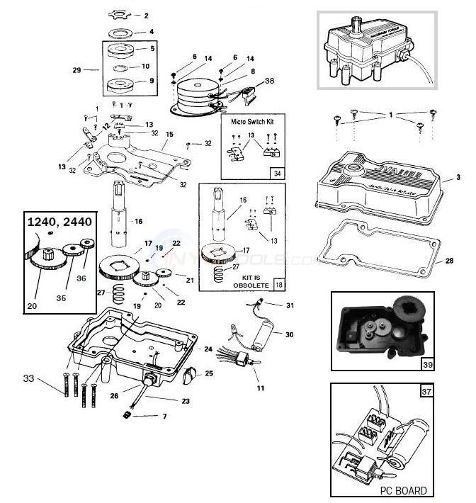 wiring diagram jandy plc700 jandy valve actuator parts - inyopools.com jandy wiring diagram