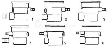 "3 1/2"" or 4"" Spa Jets Body Diagram"