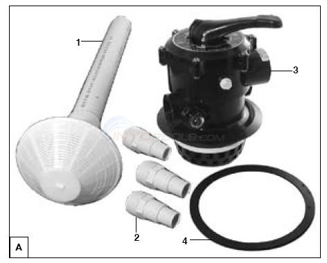 "Musking / Zodiac Top Mount 1-1/2"" Replacement, H72311 Diagram"