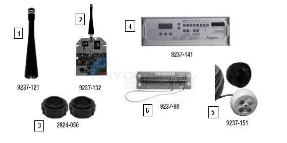 Pentair Easytouch Parts & Accessories Diagram