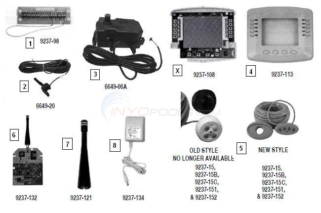 Pentair Intellitouch Parts & Accessories Diagram