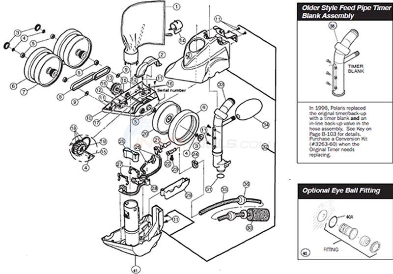 polaris 360 head parts inyopools com rh inyopools com Polaris 360 Pressure Test Polaris 360 Manual English