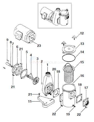 Premier 658 Bronze Pump Parts
